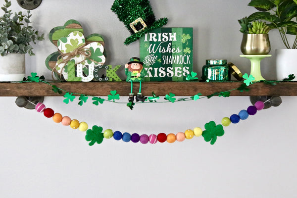 Shamrock Rainbow Garland
