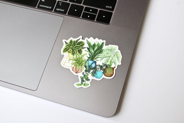 House Plants Sticker