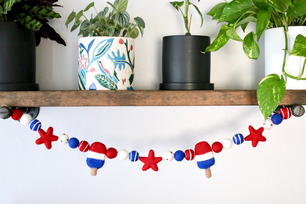 Summer Popsicle Garland