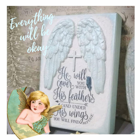 Inspirational Angel Wings Art by My Victoriant Heart