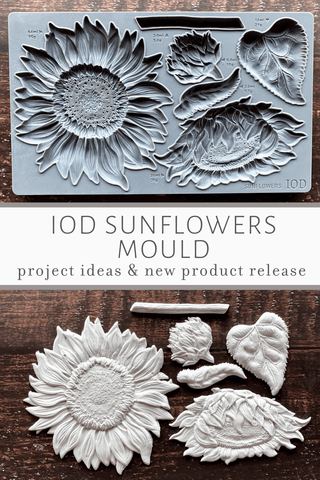 Visit the IOD Blog for more Sunflowers Mould inspiration