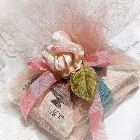 My Victorian Heart French Peacock Lavender Sachet Gift Bundle