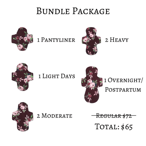 Cloth Pad Bundle Package