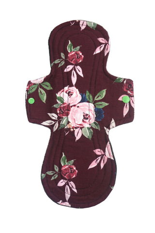 Floral Cloth Pad- Overnight/Postpartum