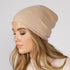 London Camel Beanie - Adeela Salehjee