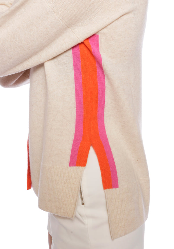 Mustique Oatmeal Cashmere Cardigan