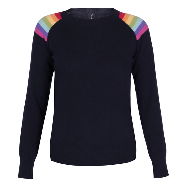 Hawaii Dark Navy Lightweight Crew Neck