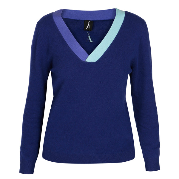 Ravello Deep Royal Blue Lightweight Vee