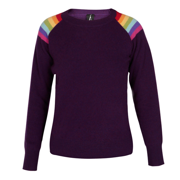 Hawaii Aubergine Lightweight Crew Neck
