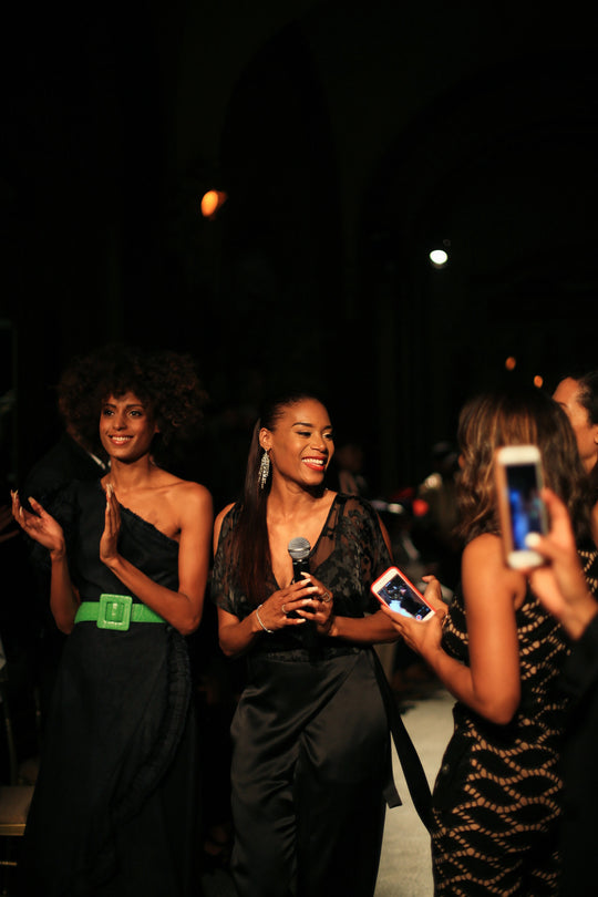 ESSENCE: AISHA MCSHAW FASHION WEEK DEBUT