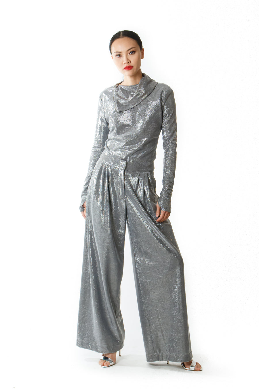 NORA LUREX PANTS