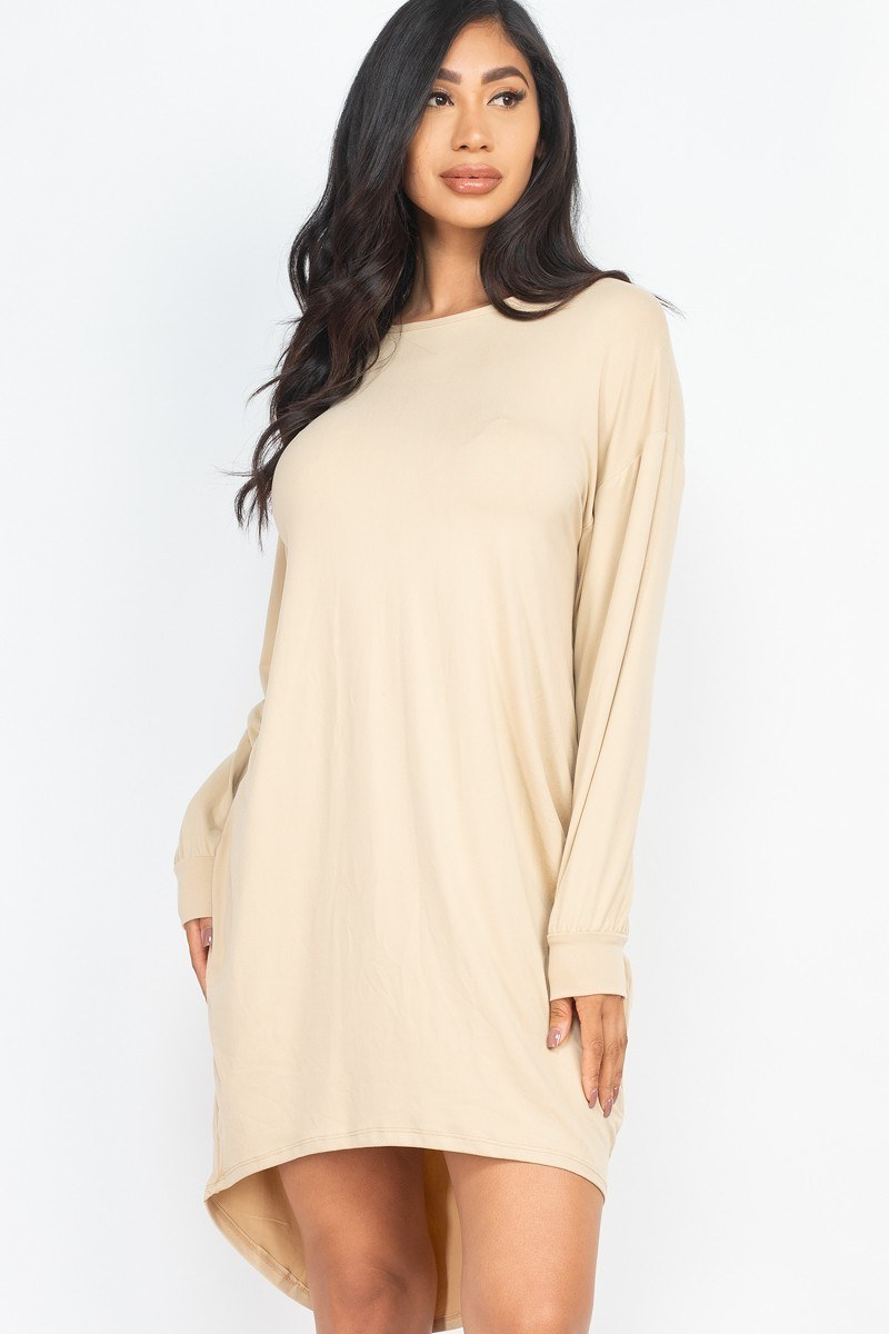 Cozy High Low Dress