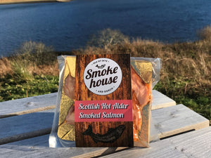 120g Hot Alder Smoked Salmon