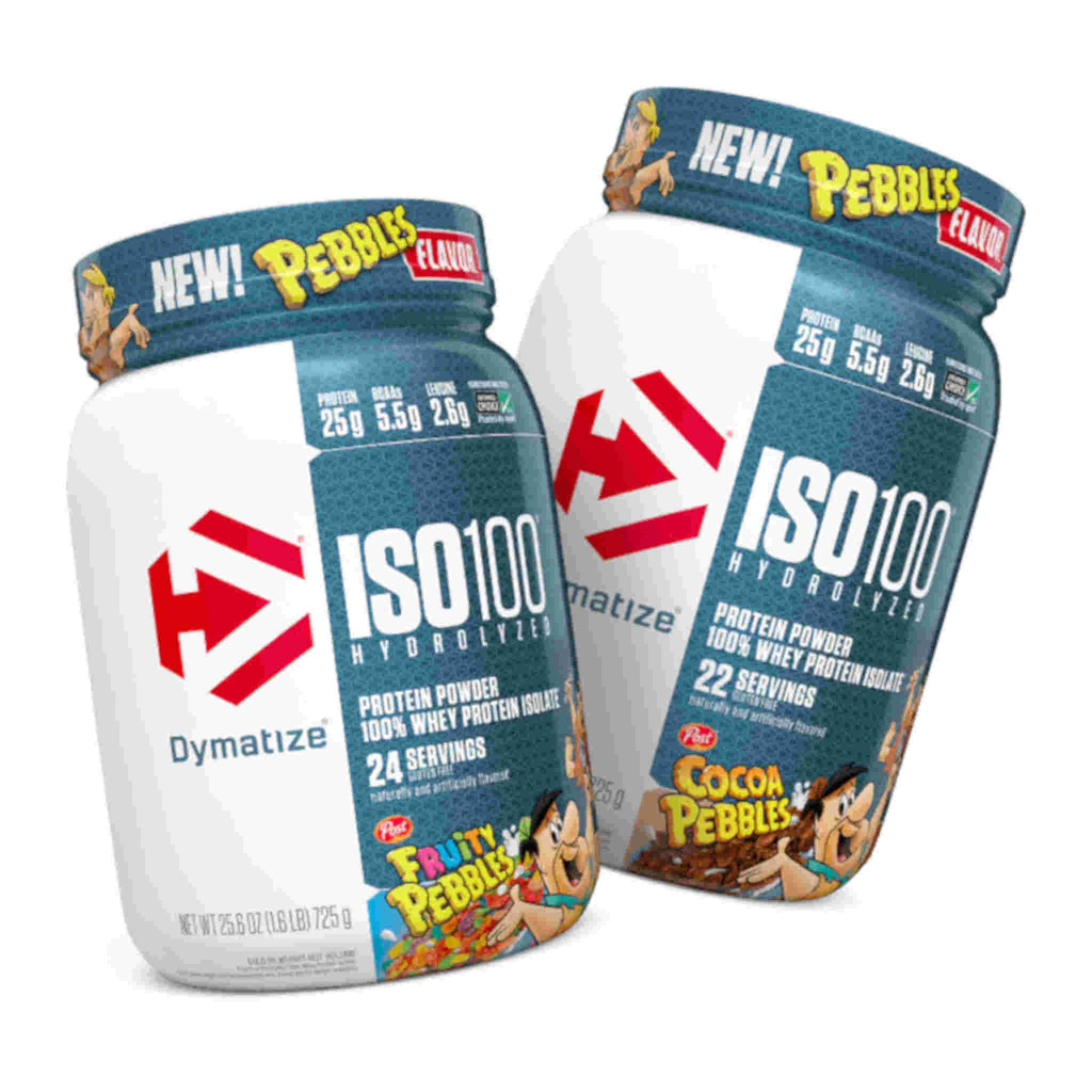 DYMATIZE ISO 100 Hydrolyzed Whey Isolate *Limited Edition 3 lb.