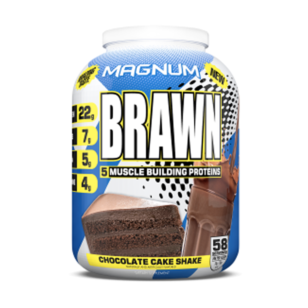 Magnum Brawn Muscle Building Protein 5lb