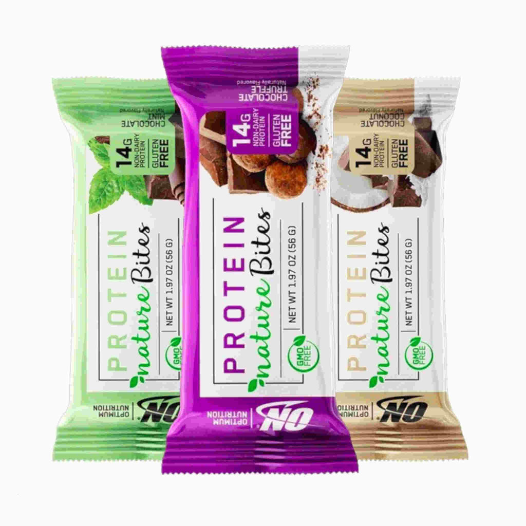 Optimum Nutrition Protein Nature Bites Best By: 03/2020