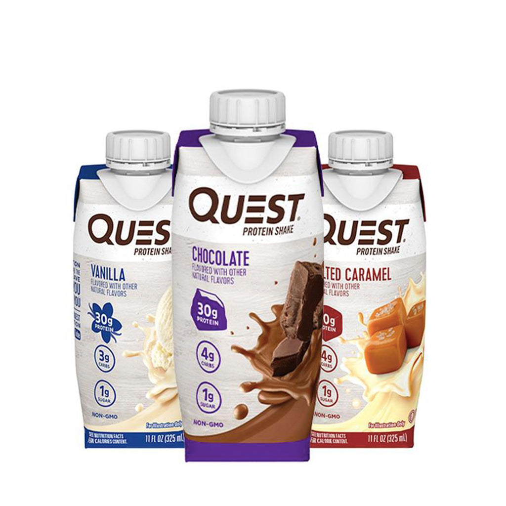 QUEST RTD Protein Shake (325 ml.) * 4 PACK *