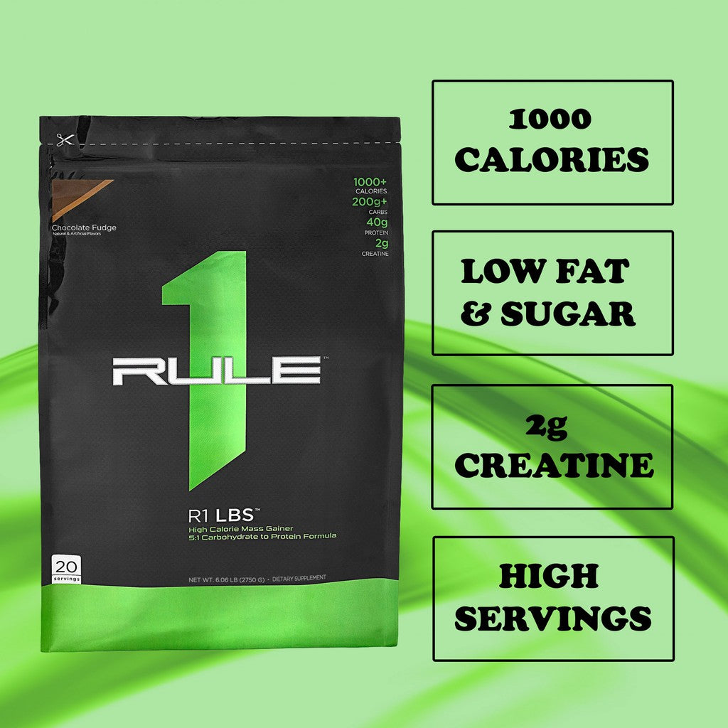 PROMO! RULE1 MASS GAINER 6 lb. & 150 gm. CREATINE COMBO DEAL!
