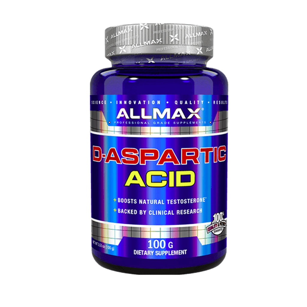 Allmax D-Aspartic acid 100 gm.