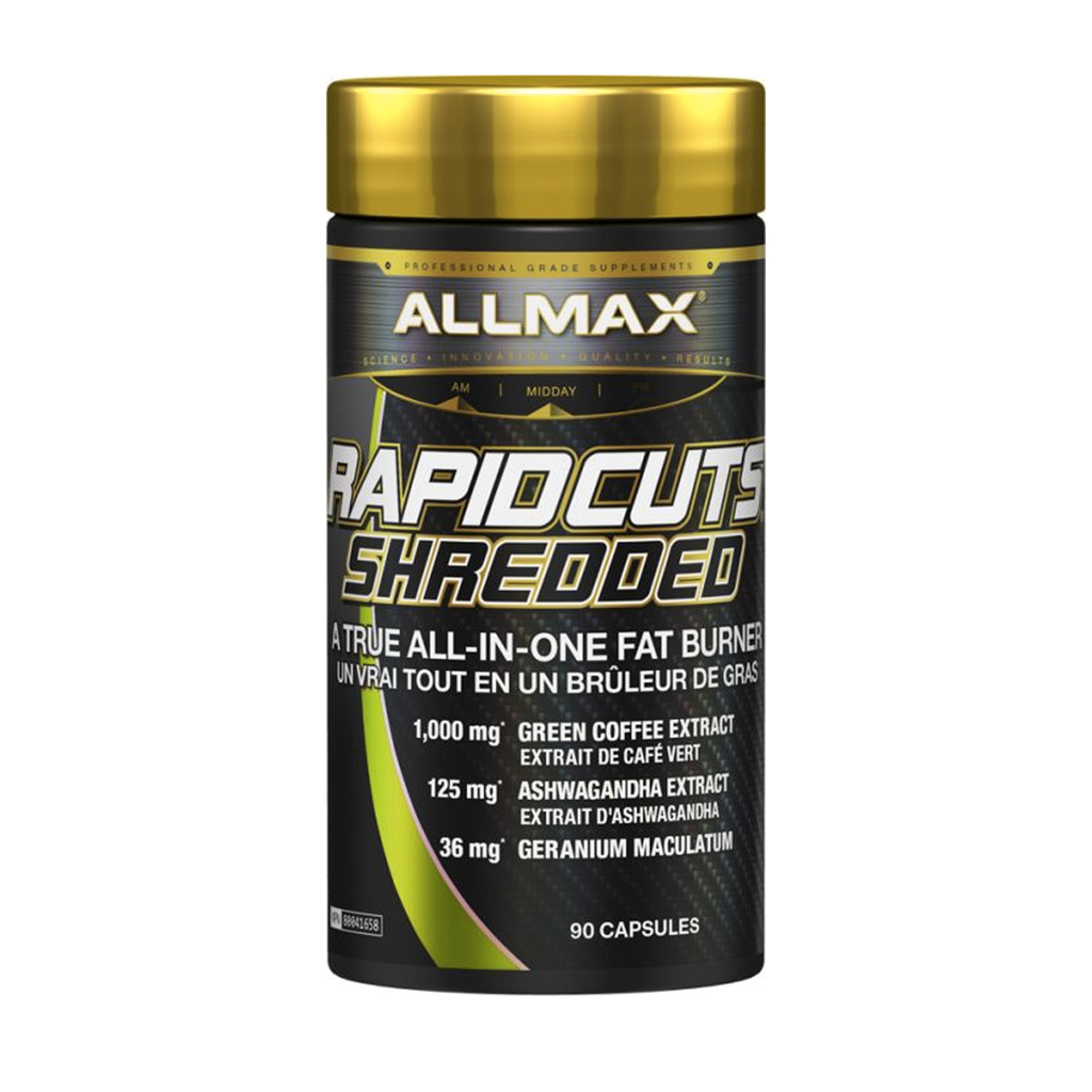 Allmax Rapid Cuts Shredded 90 caps