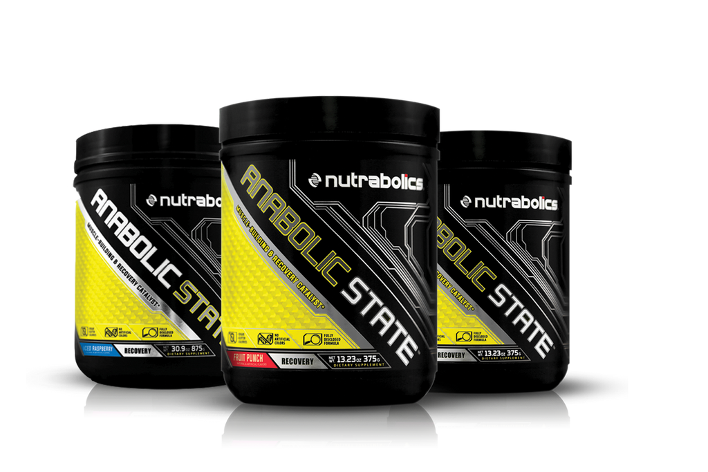 Nutrabolics Anabolic State BCAA & GLUTAMINE 30 serving