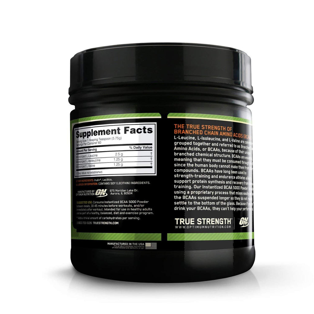 Optimum Nutrition Instantized BCAA 345 gm.