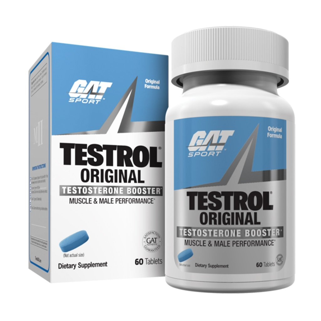GAT TESTROL (original) 60 tabs *Best By 02/2021