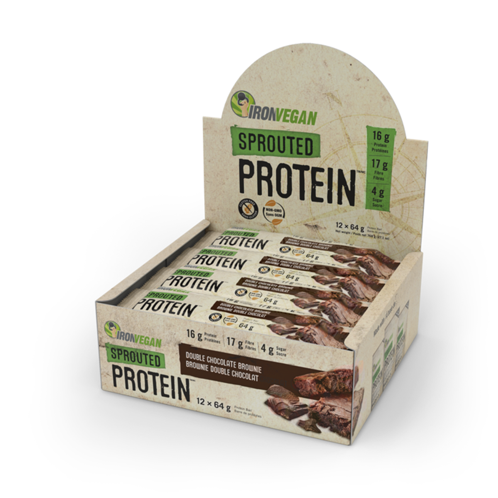 Iron Vegan Sprouted Protein Box of 12