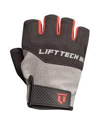 LIFTTECH Men's Classic Glove gray/red