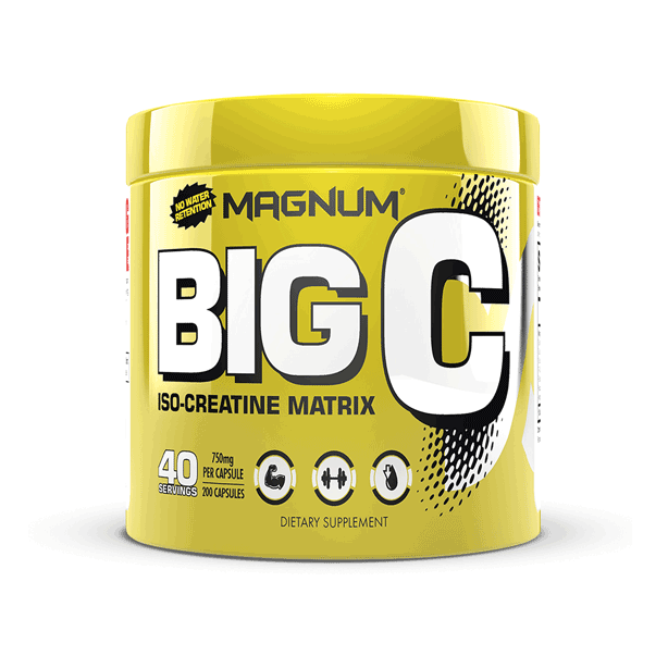 MAGNUM BIG C CREATINE 200 caps.