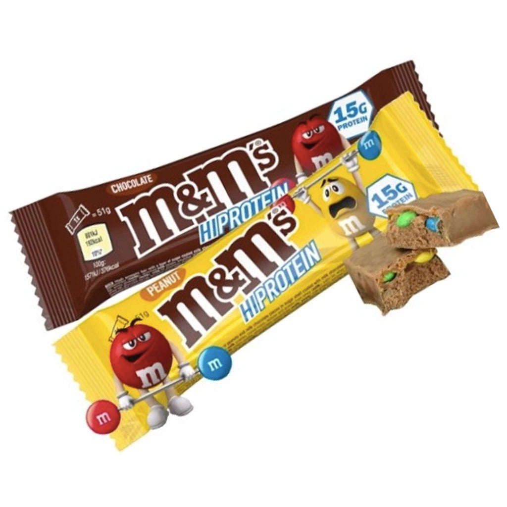 M&M HI PROTEIN BAR 51 gm.