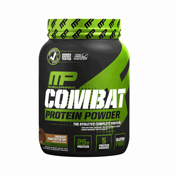 MUSCLE PHARM COMBAT PROTEIN 4lbs.