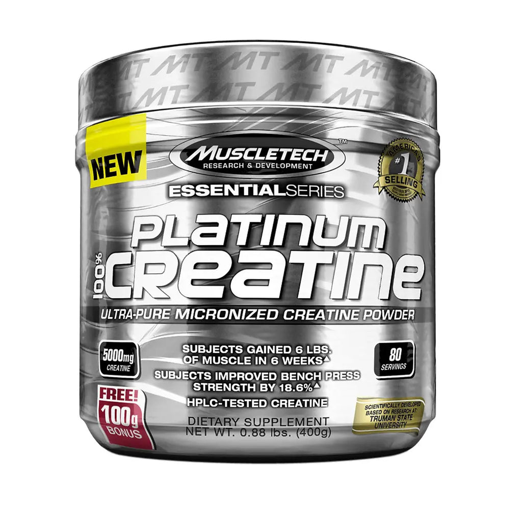 MUSCLETECH CREATINE 400 gm.