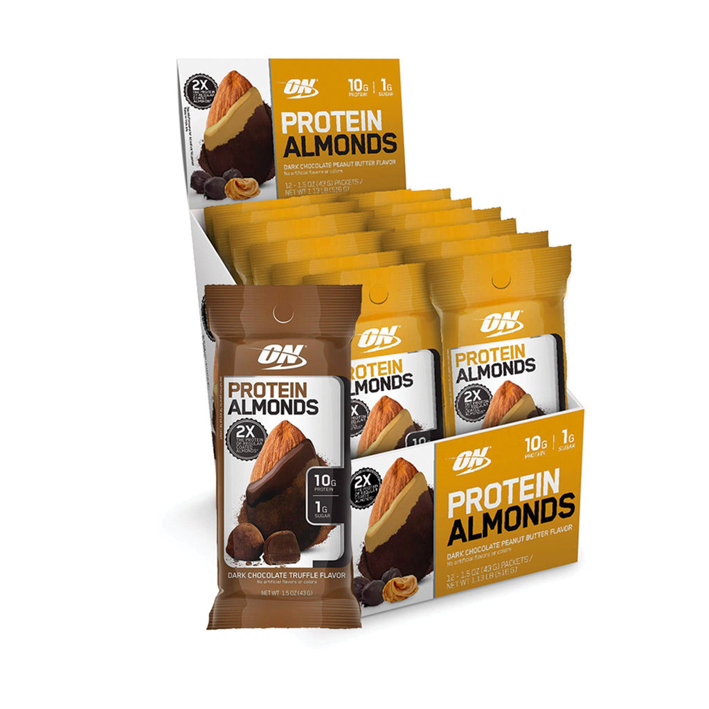 Optimum Nutrition Protein Almonds 43 gm.
