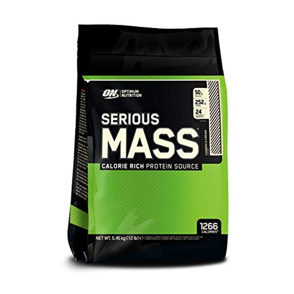 Optimum Nutrition SERIOUS MASS 12 lb.