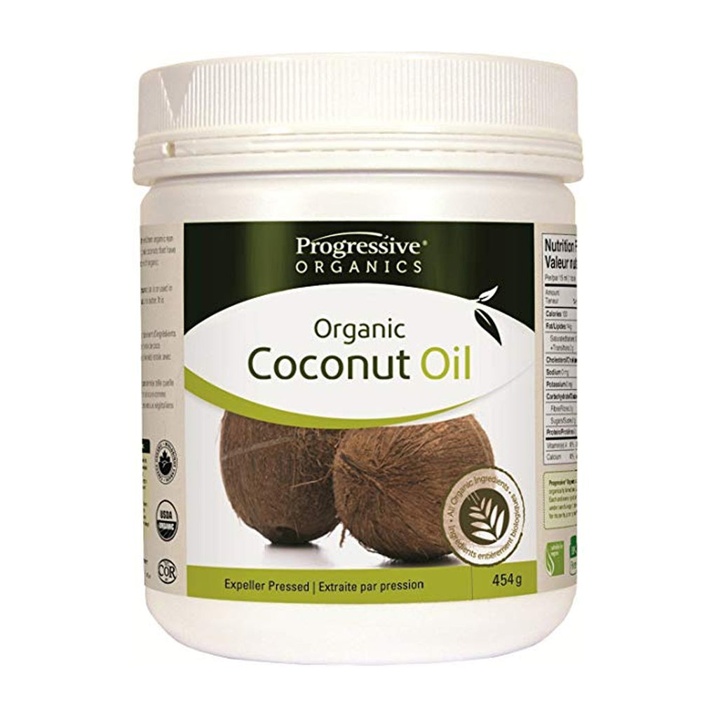 Progressive Organics Coconut Oil Virg. 454 gm.