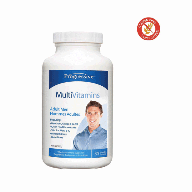 Progressive Multi Vitamin Adult Men 60 caps.