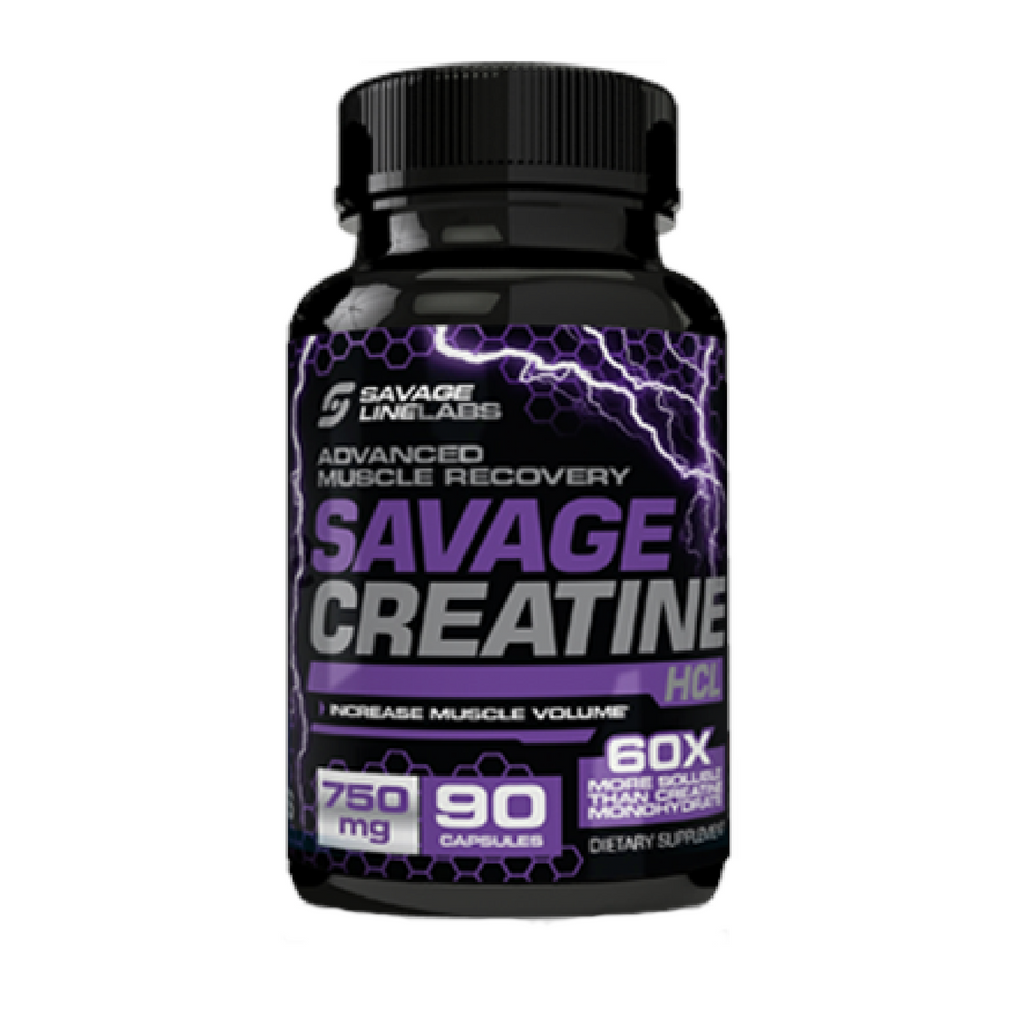 SAVAGE LINE LABS Creatine HCL 90 caps