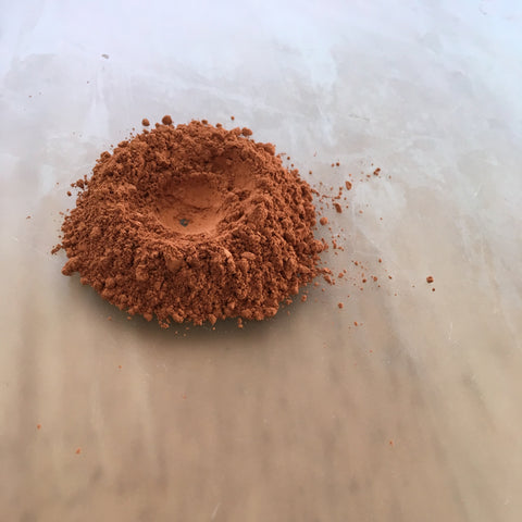 earth pigment ready for mulling