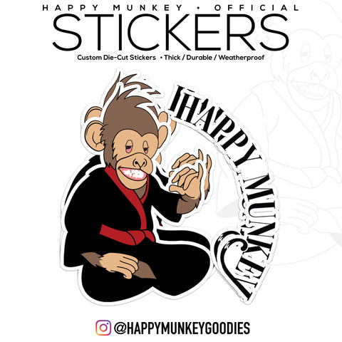 HappyMunkey Sticker