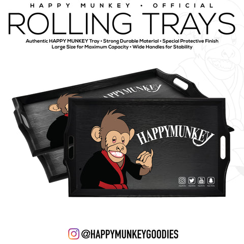 HappyMunkey Rolling Trays
