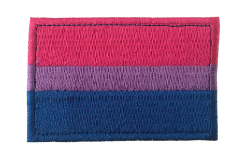 Bisexual Pride Embroidery Patch
