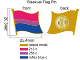 Bisexual Pride Flag Pin