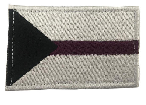 Demisexual Pride Embroidery Patch