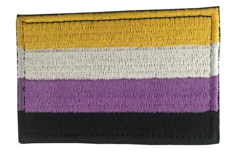 Non-Binary Pride Embroidery Patch