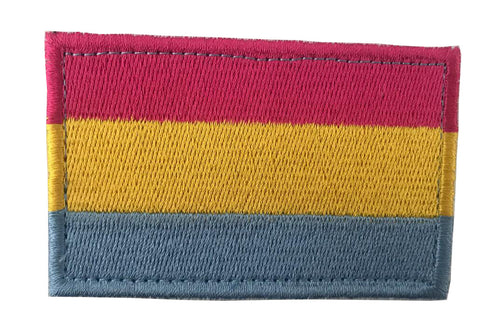 Pansexual Pride Embroidery Patch