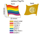 Rainbow Pride Flag Pin