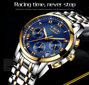 LIGE Watches Men Luxury Brand