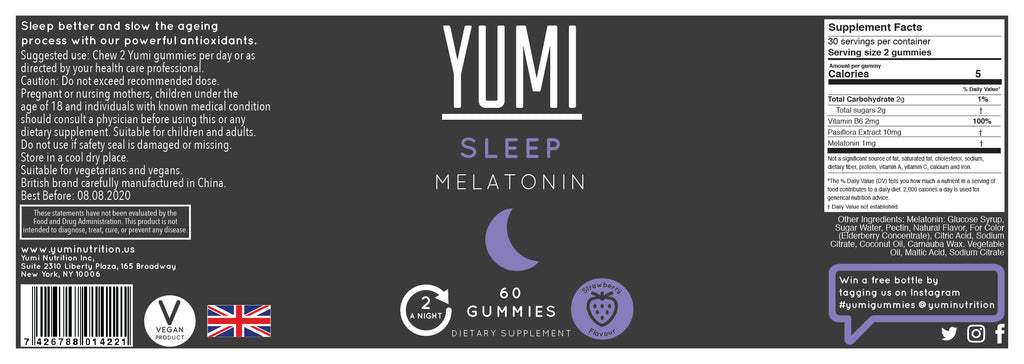 Sleep & Recover Multipack (Melatonin & CBD)