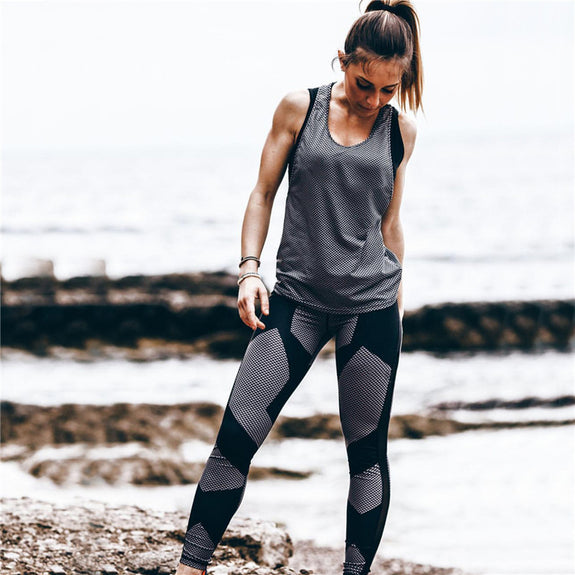 Painted-Tone Leggings